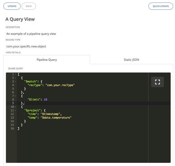 View Create Query